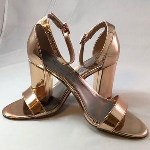 Worthington Womens Beckwith Heeled Sandals. Sz 9.5